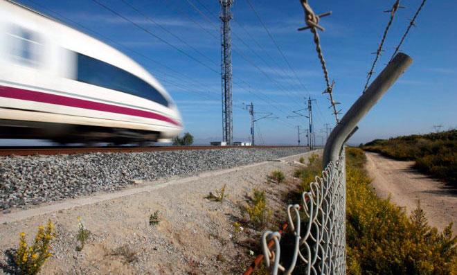Protección perímetro linea ferrocarril
